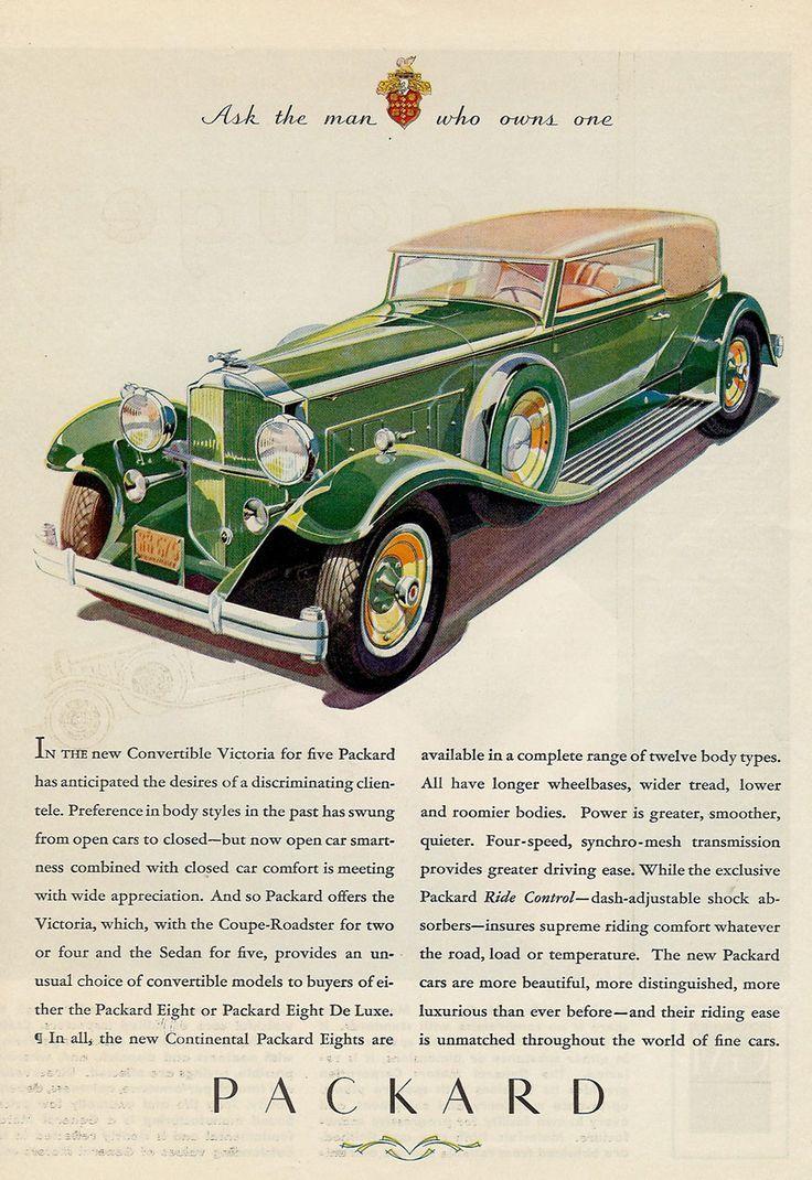 182 best Packard images on Pinterest | Old school cars, Vintage ...