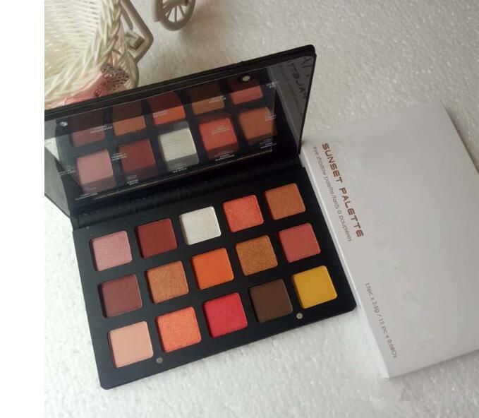 New Arrival HOT Makeup 15 Colors XXX SunSet Cosmestics Natural Eyeshadow Palette #Unbranded