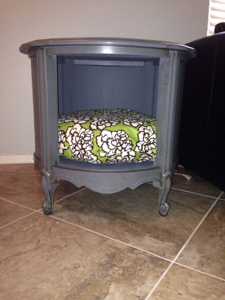 1000 Images About End Table Dog Bed On Pinterest Old
