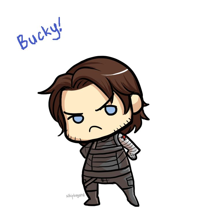 Cute Winter Soldier Fan Art – Daily Motivational Quotes