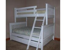 Photo of Bunk Bed B31 - White Paint