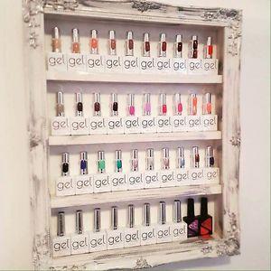 Nail Polish Rack/storage Salon Shelf Home Salon Furniture Polish Organizer  | eBay