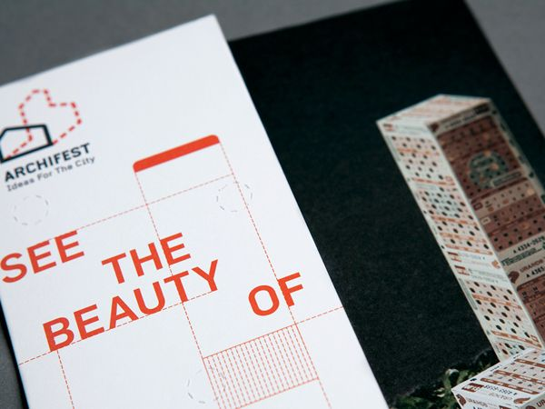 Branding, Marketing, Promotional, Infographics, Typography, Book, Print, Web, Rebrand For Architecture Festival (Singapore) (Design) (Somewhere Else)