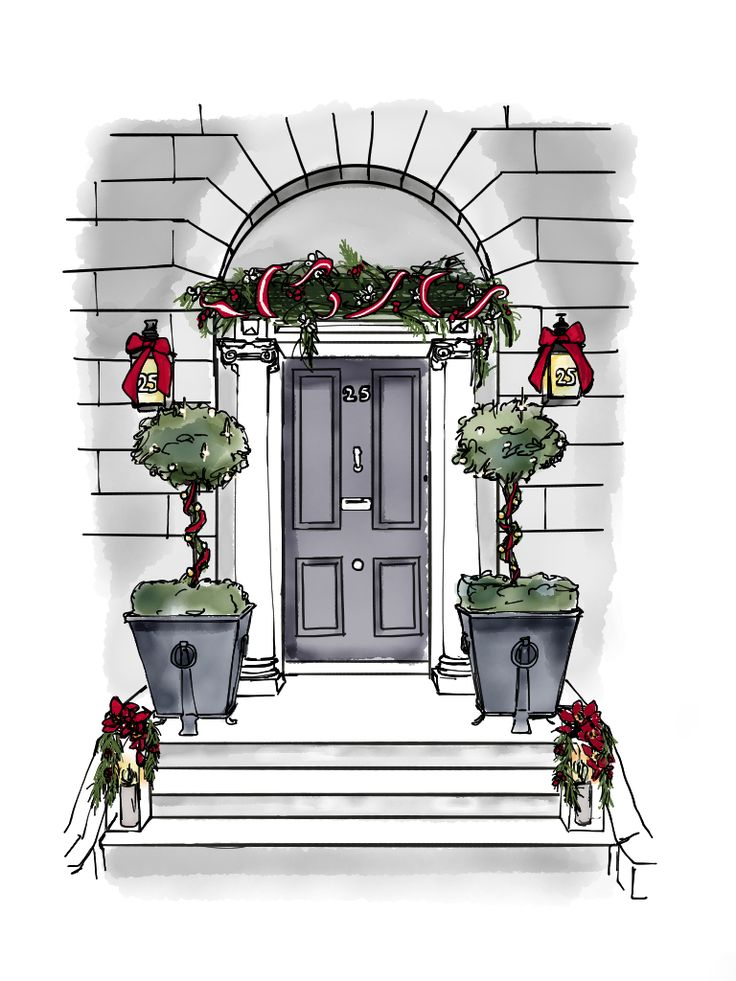 How beautiful is this design of our building? It's a gorgeous illustration from Dubliner Doodles