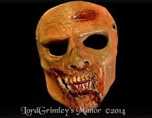 The Walker Zombie Price: $32.99 + Free shipping E-Bay: http://www.ebay.com/itm/Walker-Zombie-Half-Mask-Halloween-Mask-Horror-Monster-Undead-/261558818073?pt=LH_DefaultDomain_0&hash=item3ce61ed519 These guys are ok as long as they stay on leashes.  Can't have zombies walking around biting people at random on the property.  That's the Trolls job. Questions ? Contact us at order@lordgrimley.com