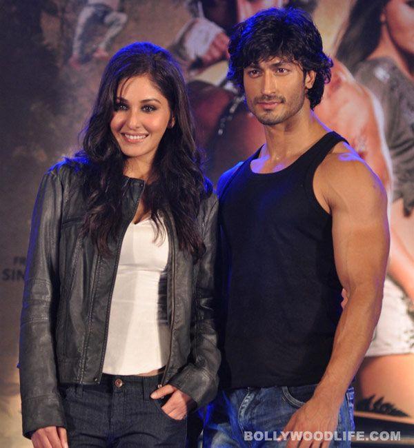 Vidyut Jamwal and Pooja Chopra