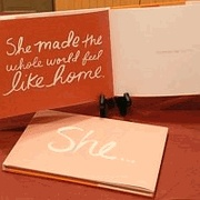 """""""She"""" gift book only $9.99"""