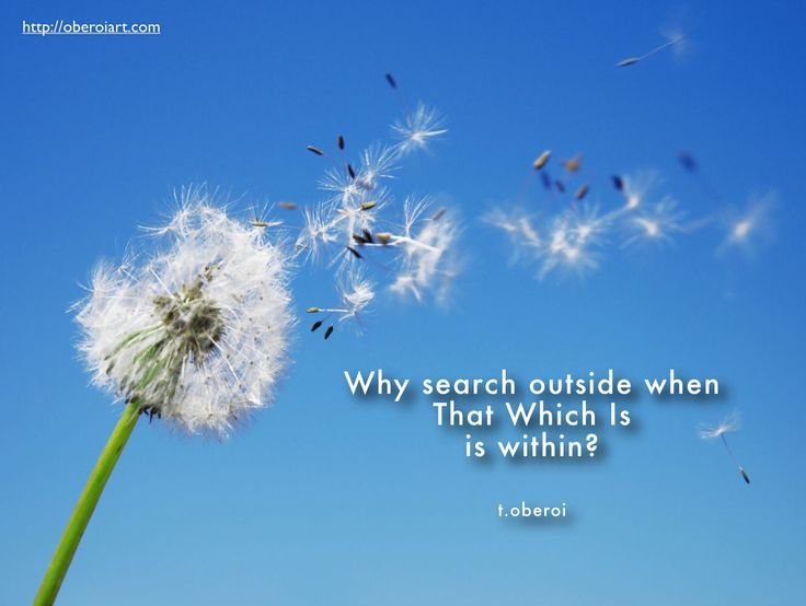 """What a thoughtful morning! """"Why search outside when That Which Is is within?"""" Please feel free to share it or leave a comment. My photographs and poems can be seen on my website, oberoiart.com"""