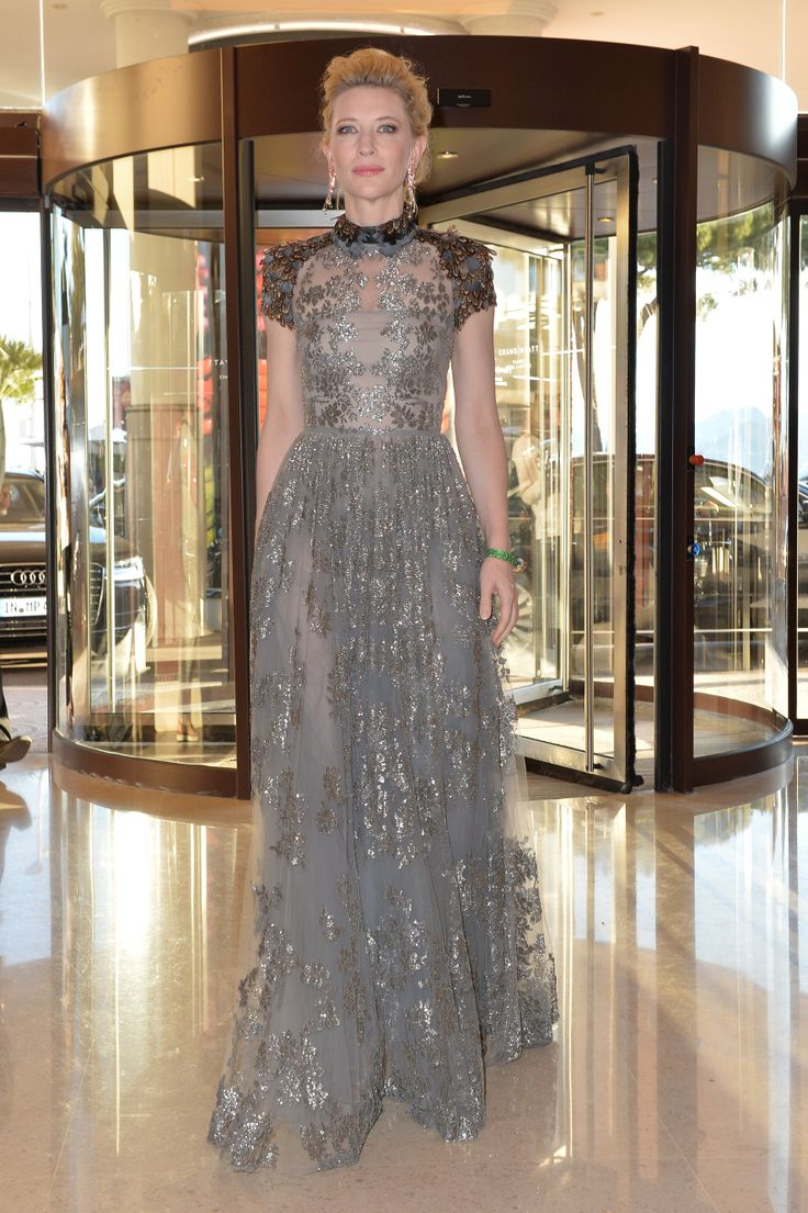 Cate Blanchett wears a Valentino gown from the Pre Fall 14/15 collection in Cannes, May 15th, 2014