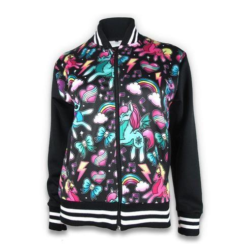 Unicorns Black Jacket