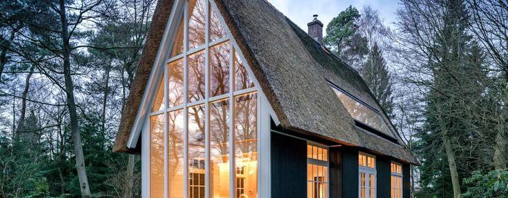 Projekty, wiejskie Domy zaprojektowane przez reitsema & partners architecten bna