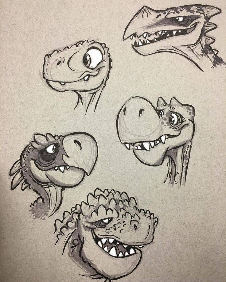 how to draw dinosaur scales