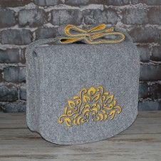 Filcowa torba na ramię - personalizowana z grawerowaną dedykacją Filcowa torba na ramię - personalizowana z grawerowaną dedykacją