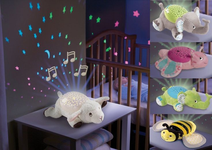 Details about Baby Sleep Soother Musical Night Light