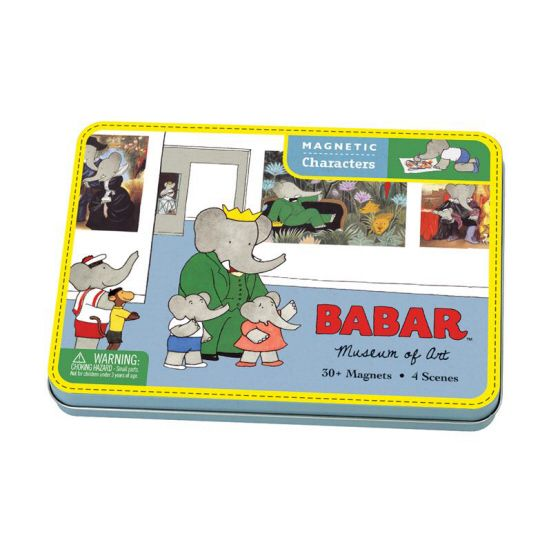 Magnetic Figures Babar Museum Of Art