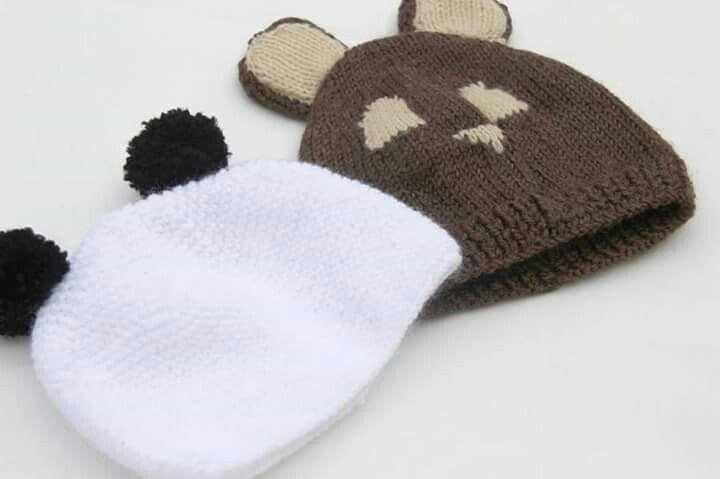 388 best gorros images on Pinterest   Punto de crochet, Gorros y ...