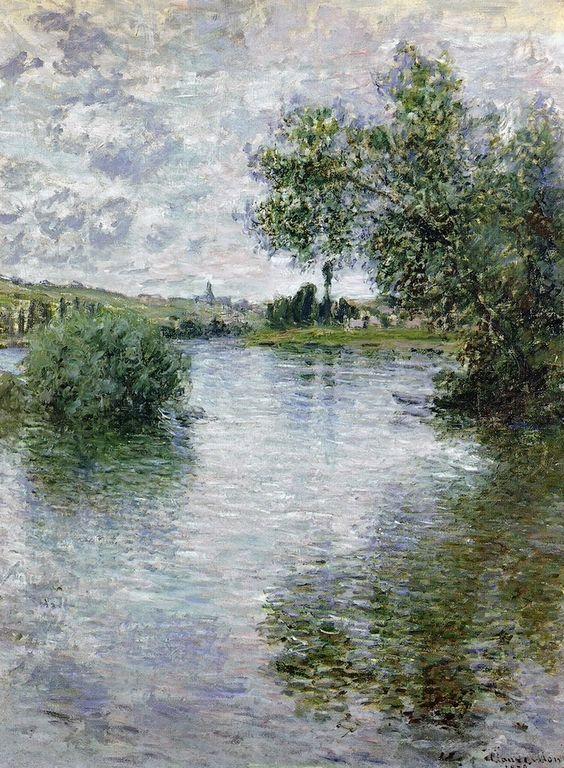 La Seine à Vétheuil , 1879 - Claude Monet: