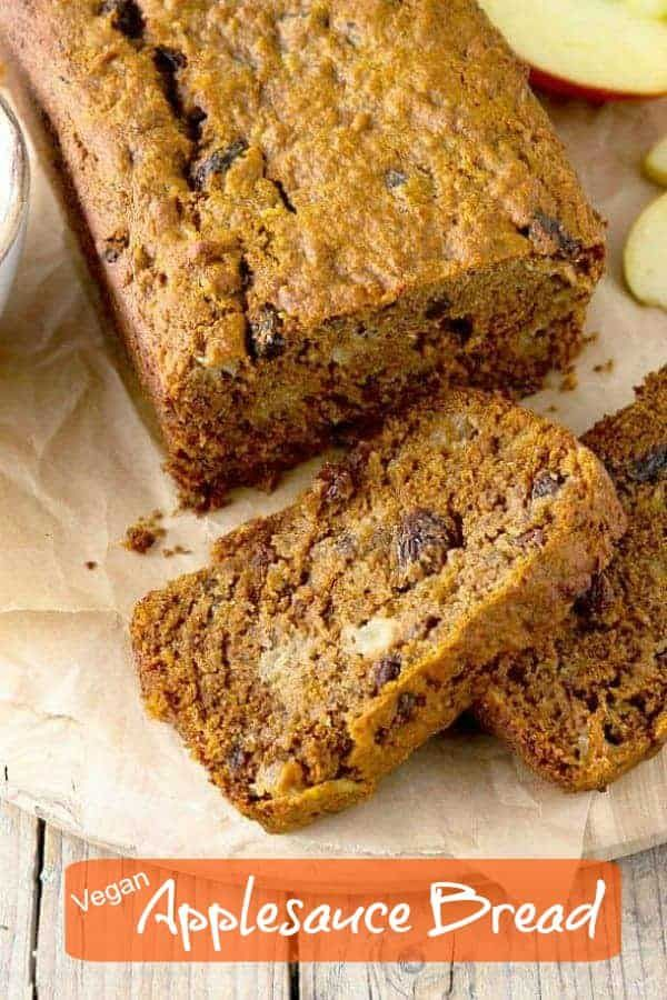 This Beautiful Vegan Applesauce Bread Recipe That Is A Perfect Quick Bread For Breakfast Or Any Time D Applesauce Bread Vegan Comfort Food Best Dessert Recipes