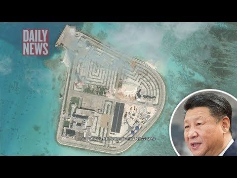 "China build nuclear power plant on artificial island to 'conquer disputed South China Sea' CHINA plans to build a nuclear power plant in the disputed South China Sea are ""moving ahead steadily"", according to state media. Original content: https://www.express.co.uk ✅ I do not own the ..."