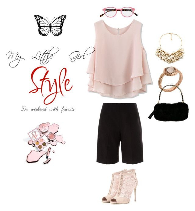 """My Little Girl Idea of weekend style"" by chevy-mona-adiwar on Polyvore featuring Chicwish, Marc by Marc Jacobs, Dolce&Gabbana, Carven, Lilly Pulitzer, women's clothing, women, female, woman and misses"