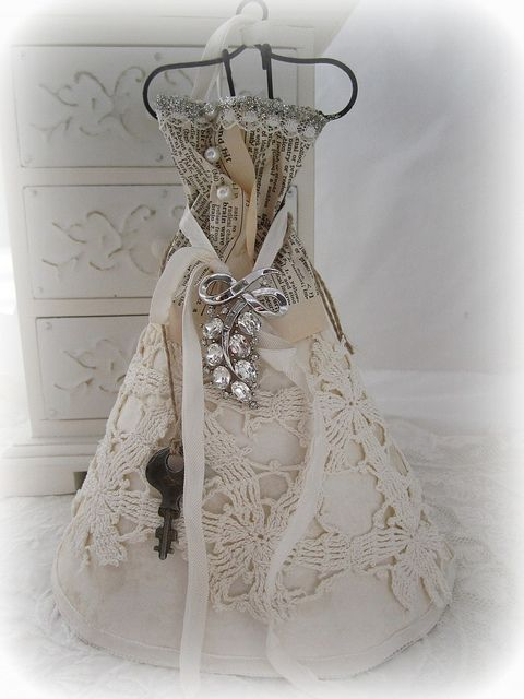 Altered Dress Form by littlethings1, via Flickr