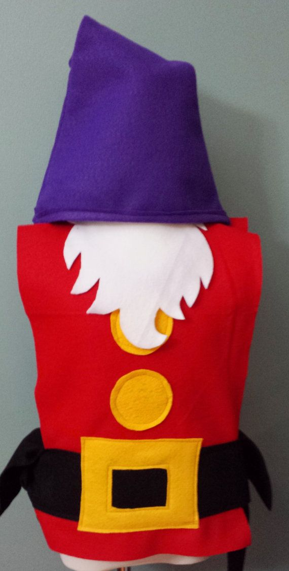 Grumpy Costume Set Snow White Seven Dwarfs by TeatotsPartyPlanning