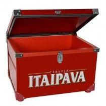 Caixa Térmica Itaipava - 50 Litros com capacidade para 24 garrafas