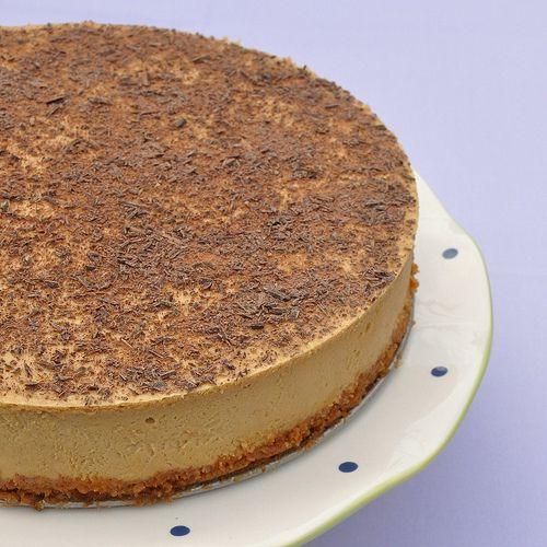 Tiramisu Cheesecake - A Delicious Italian American Combination - Food Lover's Odyssey