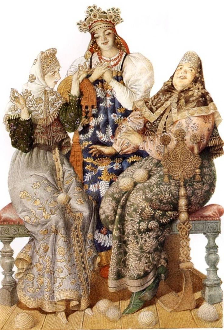 Gennady Spirin, Illustation for 'The Tale of Tsar Saltan' by A. S. Pushkin
