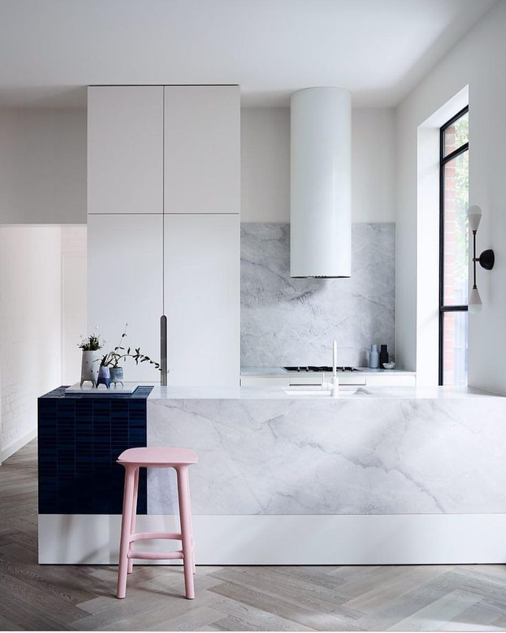 "915 Likes, 15 Comments - @artedomus on Instagram: ""Heavens! This Prahran home takes you into the clouds with our Elba marble counter and splashback…"""