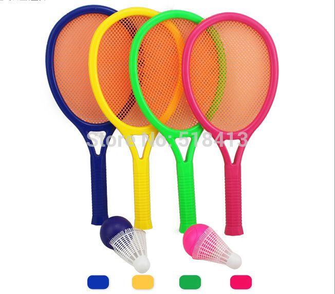 Детский бадминтон ракетки Детские теннисные ракетки Родительский развивающие игрушки для фитнеса Ребенка мяч