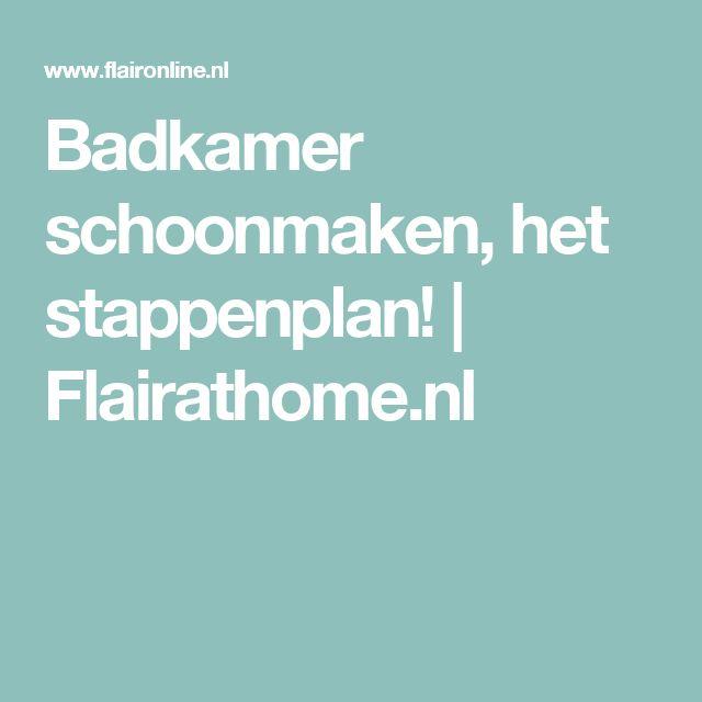 17+ idee u00ebn over Badkamer Schoonmaken op Pinterest   Badkamer schoonmaaktips, Douche schoonmaken