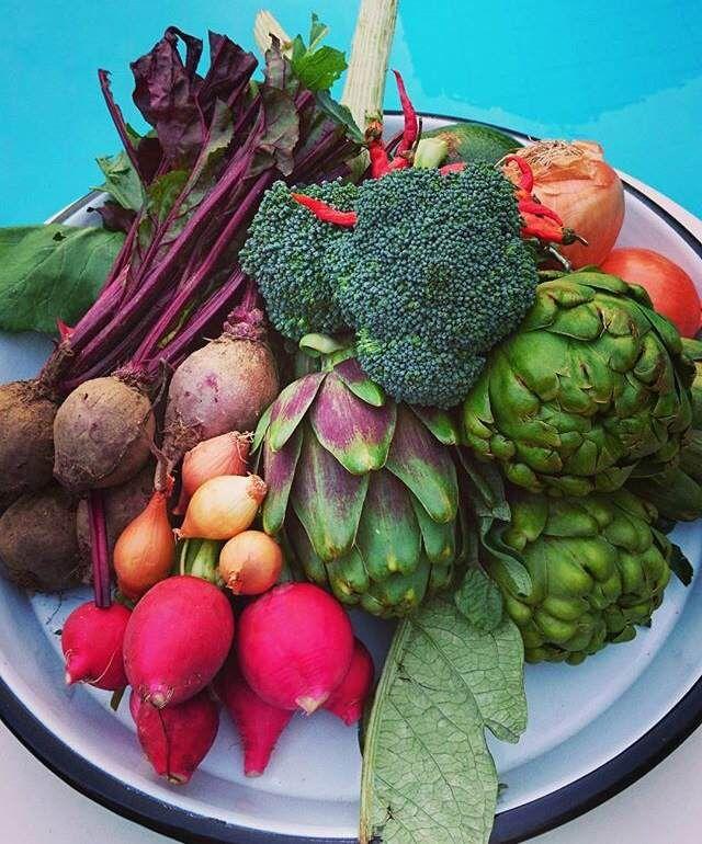 Fresh veggies from the town bazaar of Alacati by www.grandbazaarshopping.com