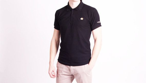 THOMAS KONVALI Men's Polo Shirt by THOMASKONVALI on Etsy