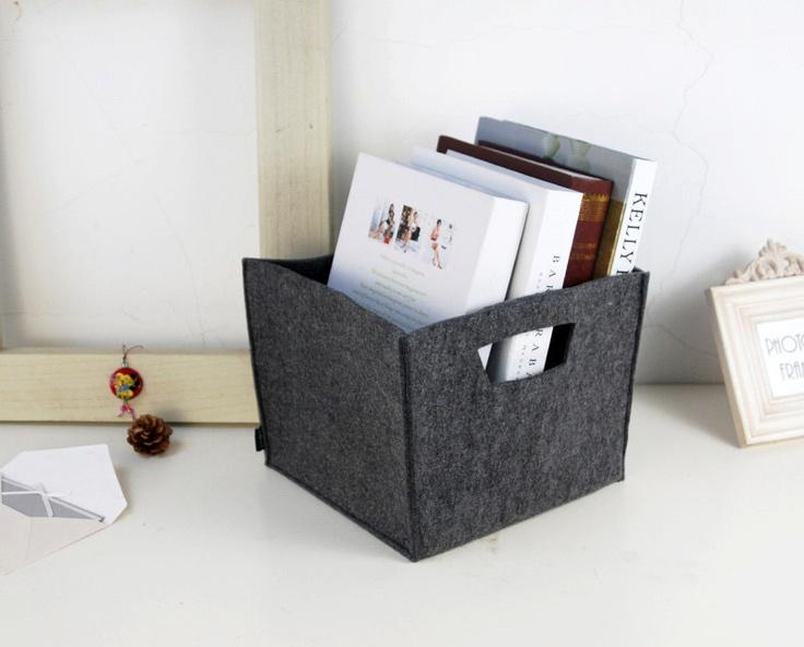 Felt Storage Box