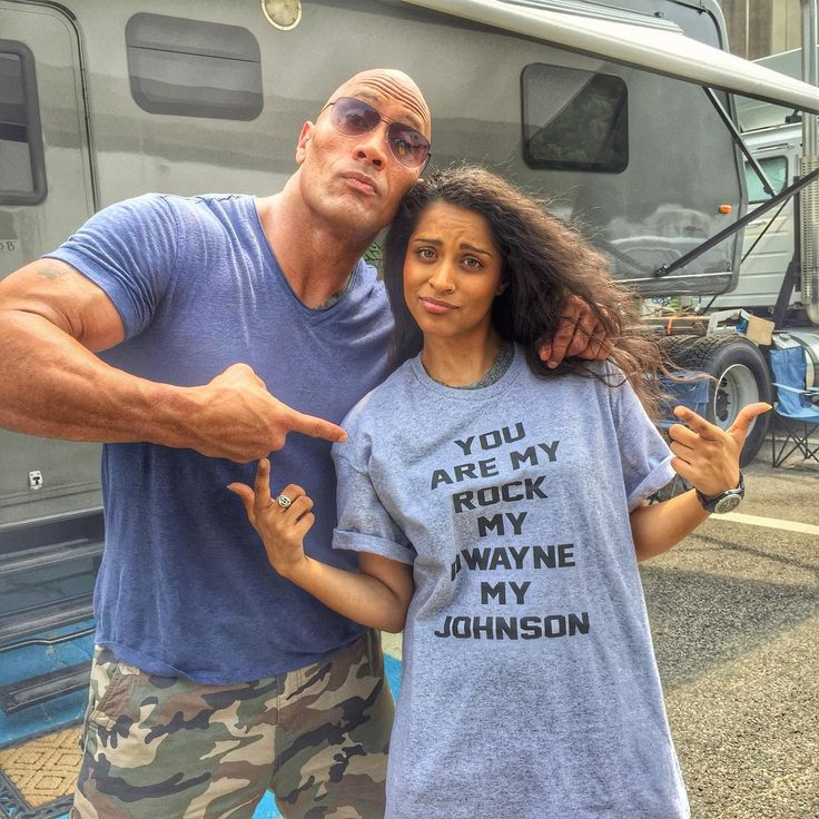 Big shout out to my homegirl Lilly Singh @iisuperwomanii for not only droppin' by our #CentralIntelligence set to get some hang time in,