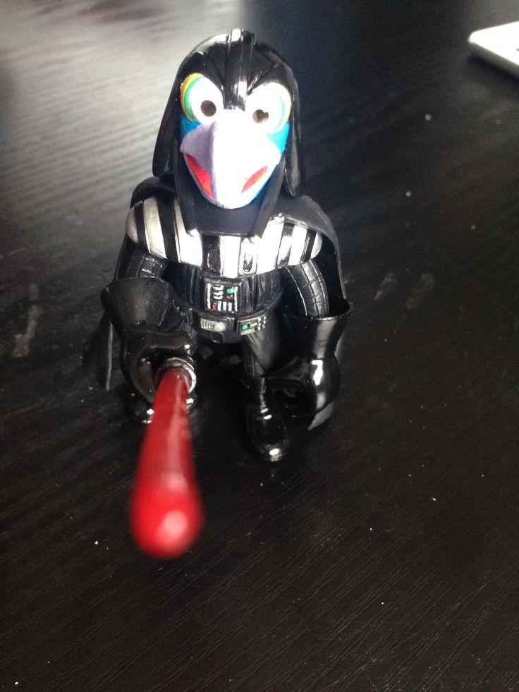 Darth Gonzo #muppets #starwars