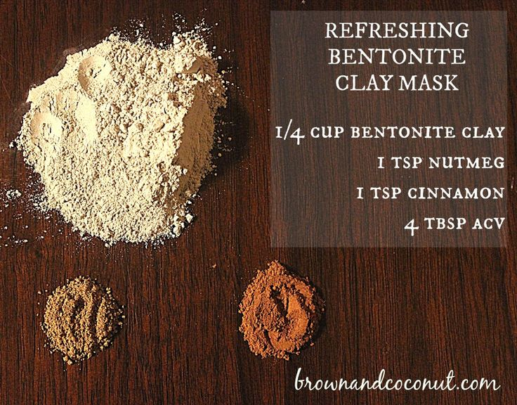 The Ultimate Clay Mask for Glowing, Radiant Skin: Bentonite Clay, Cinnamon and Nutmeg