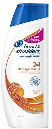 Head & Shoulders Damage Rescue 2in1 Dandruff Shampoo + Conditioner
