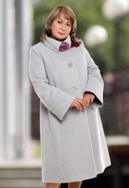 Большие размеры пальто для женщин