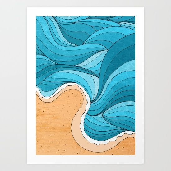 Collect your choice of gallery quality giclée or fine art prints custom trimmed by hand in a variety of sizes with a white border for framing