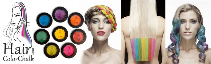 Hair Color Chalk - Temporary Hair Color