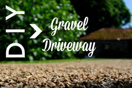 What's cheap enough to drive on? Gravel.