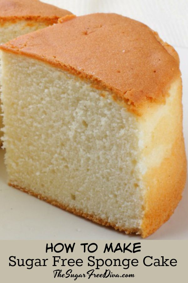Sugar Free Sponge Cake This Is How To Make It Yum