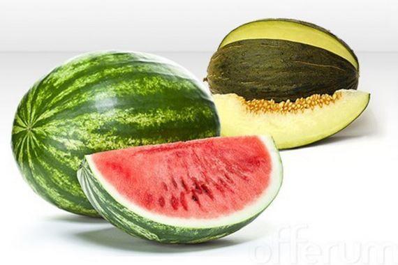 Como elegir un melón o sandía