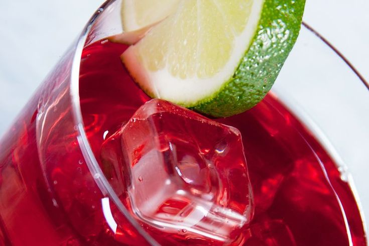 Cape Codder Cocktail - Vodka and Cranberry Mixed Drink