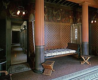 Вилла Kerylos спальня: