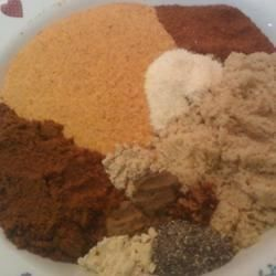 Brown sugar, chili powder and paprika are augmented by a subtle array of spices in this beef brisket rub with a flavor the size of Texas. Rub into beef at least 2 hours before cooking.