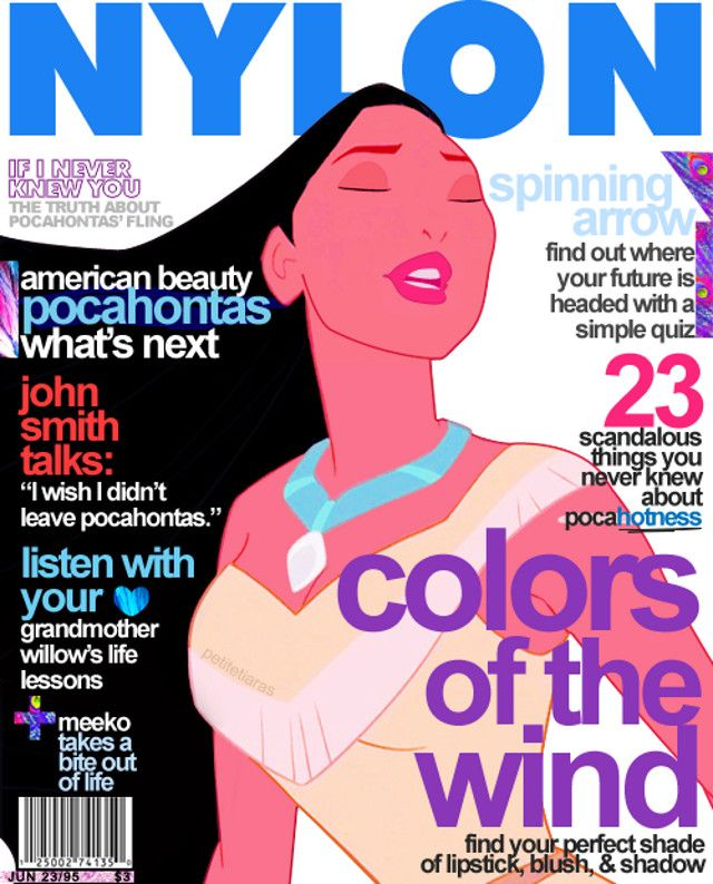 Pocahantas on Nylon