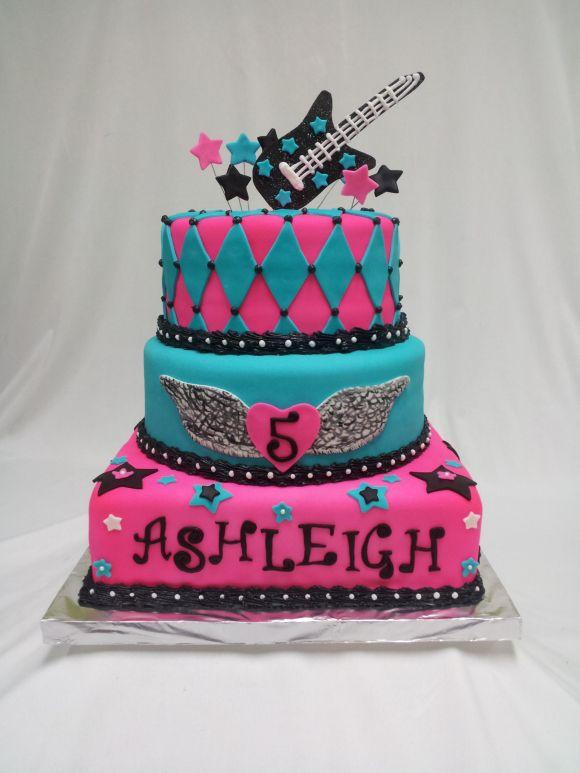 Girls Yellow Birthday Cake Ideas